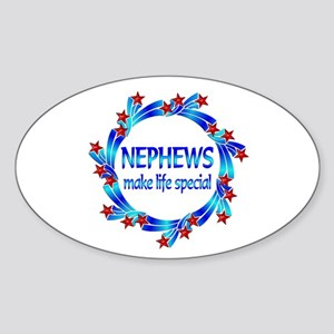 Nephews are Special Sticker (Oval)