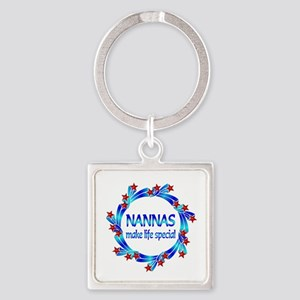 Nannas are Special Square Keychain