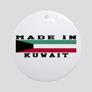 Kuwait Made In Ornament (Round)
