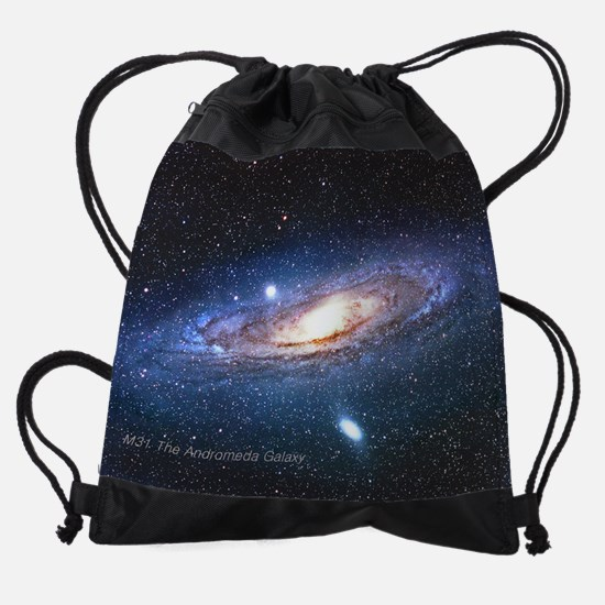 M31 Andromeda Galaxy Small Posters. Drawstring Bag
