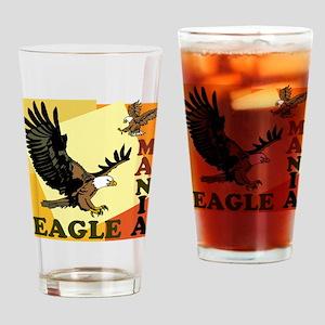 Eagle Mania Drinking Glass