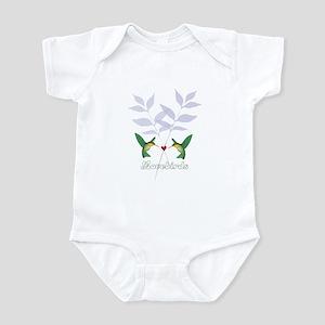 lovebirds Infant Bodysuit