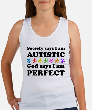 Autistic=Perfect Tank Top