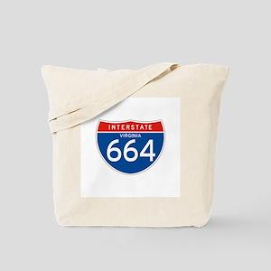 Interstate 664 - VA Tote Bag