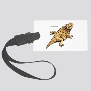 Regal Horned Lizard Large Luggage Tag