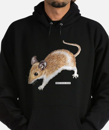 White-Footed Mouse Hoodie (dark)