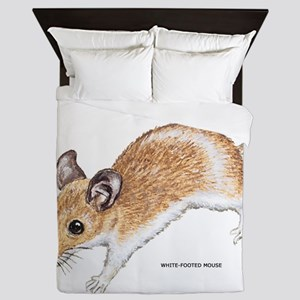 White-Footed Mouse Queen Duvet