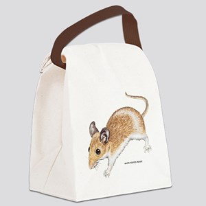 White-Footed Mouse Canvas Lunch Bag