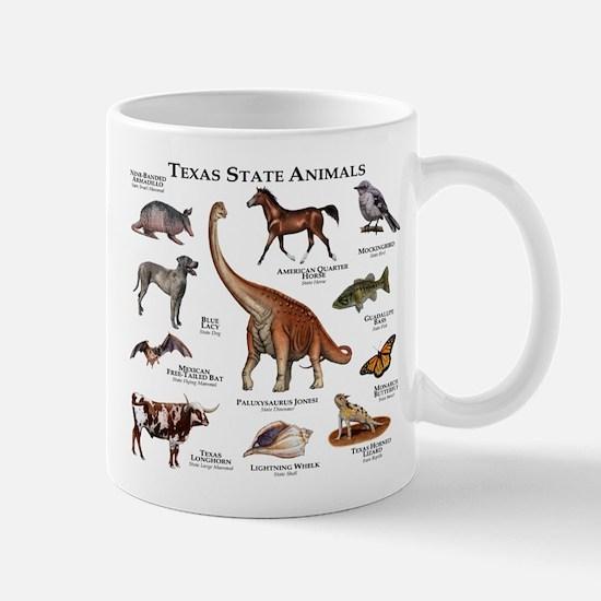 Texas State Animals Mug