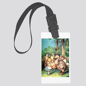 Alice and the Dodo Bird Large Luggage Tag