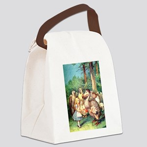 Alice and the Dodo Bird Canvas Lunch Bag