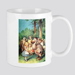 Alice and the Dodo Bird Mug