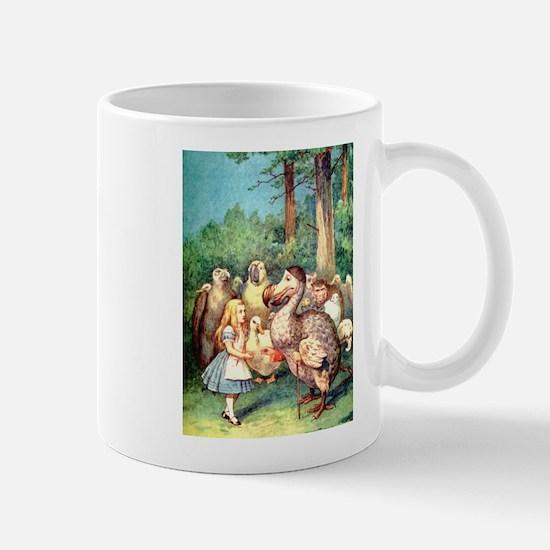 Alice and the Dodo Bird Mug