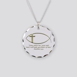 Matthew 4:19 Necklace