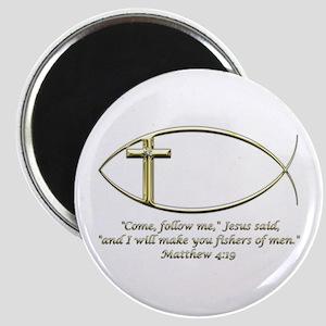 Matthew 4:19 Magnet