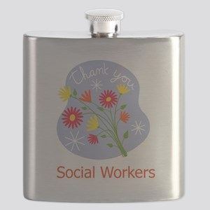 Thanks Social Workers Flask