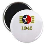 Peace Symbol USArmyAir Corps Japanese 1942 Magnet