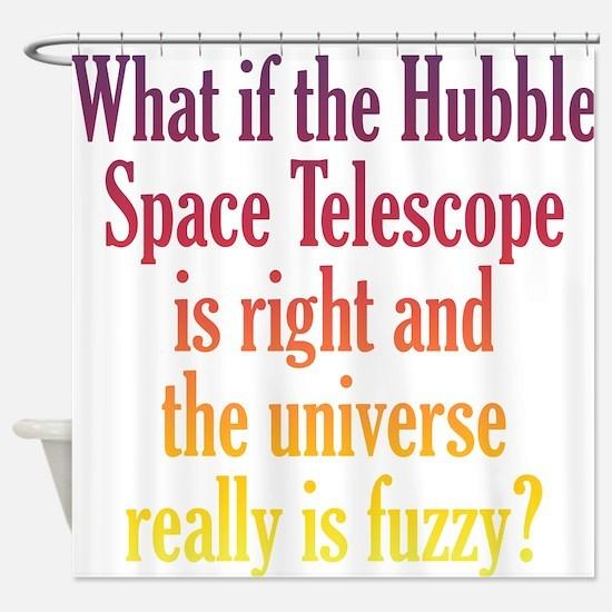 Hubble Telescope Shower Curtain