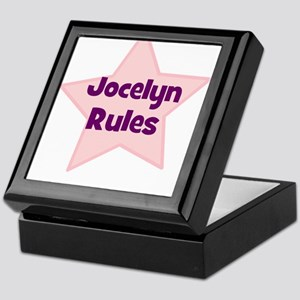 Jocelyn Rules Keepsake Box