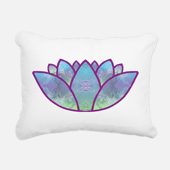 LOTUS LaptopSkin.png Rectangular Canvas Pillow