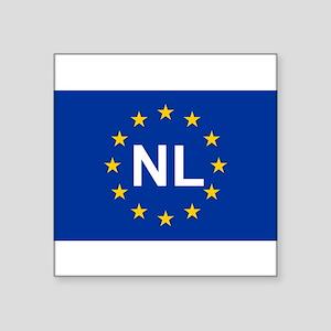 EU Netherland Sticker