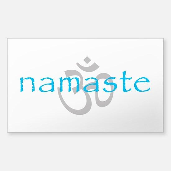 Om Namaste Decal
