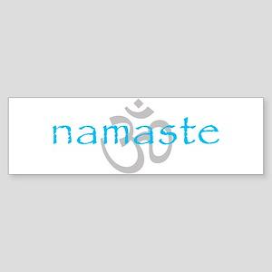 Om Namaste Bumper Sticker