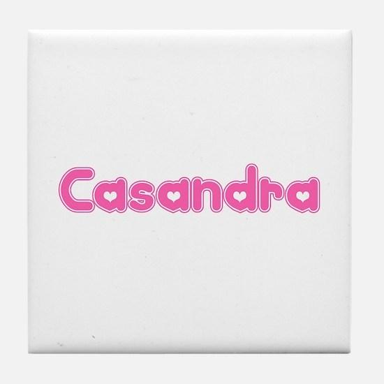 """Casandra"" Tile Coaster"