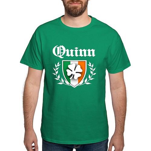 Quinn Shamrock Crest T-Shirt
