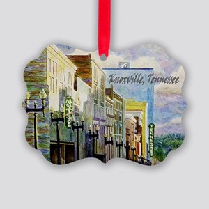 Downtown Knoxville Picture Ornament
