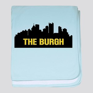 The Burgh baby blanket