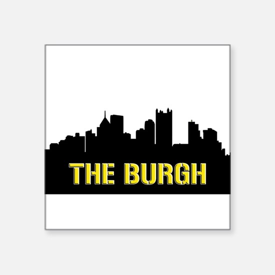 The Burgh Sticker