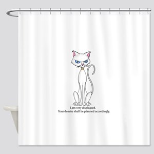 Your demise... Shower Curtain