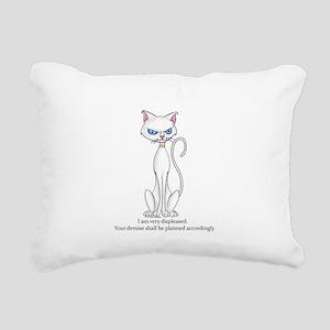 Your demise... Rectangular Canvas Pillow