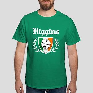 Higgins Shamrock Crest Dark T-Shirt