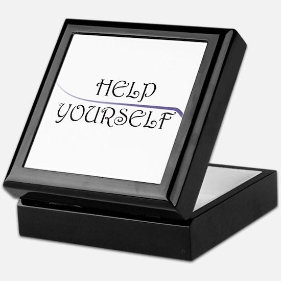 Help Yourself Keepsake Box