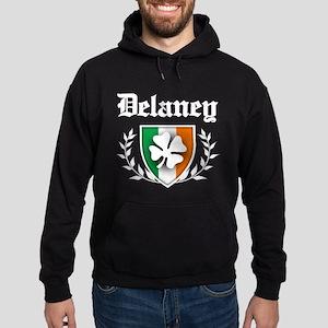 Delaney Shamrock Crest Hoodie (dark)