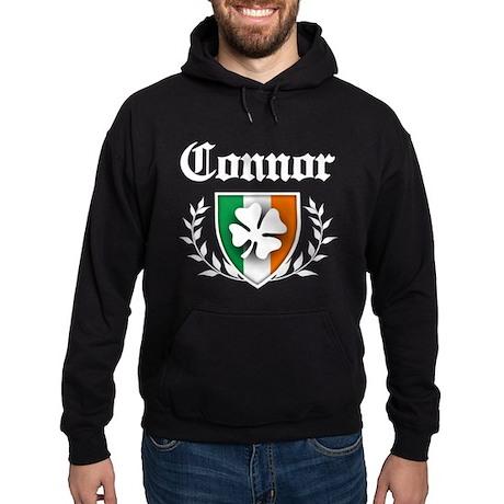 Connor Shamrock Crest Hoodie (dark)