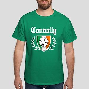 Connolly Shamrock Crest Dark T-Shirt