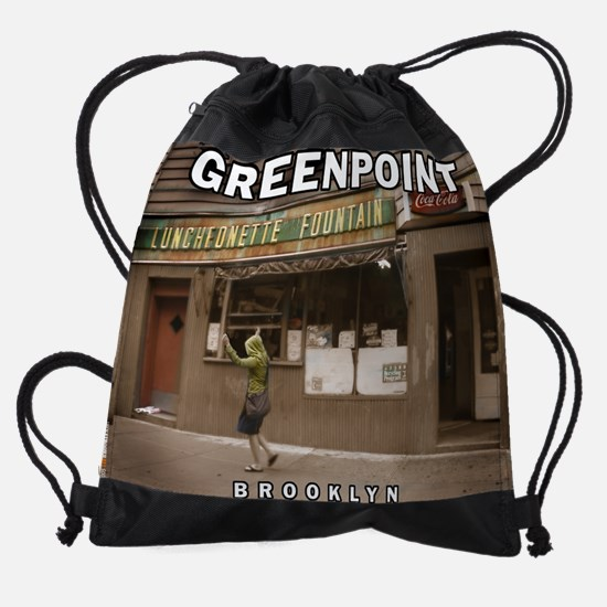 Greenpoint-Luncheonette.png Drawstring Bag
