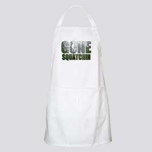 Gone Squatchin deep woods Apron
