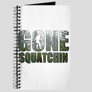 Gone Squatchin deep woods Journal