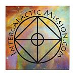 Intergalactic Mission Logo ~ Tile Coaster