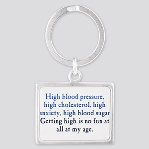 Old Age High Landscape Keychain