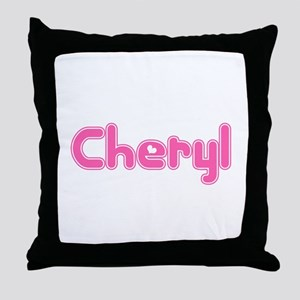 """Cheryl"" Throw Pillow"