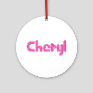 """Cheryl"" Ornament (Round)"