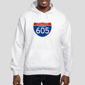 Interstate 605 - CA Hooded Sweatshirt
