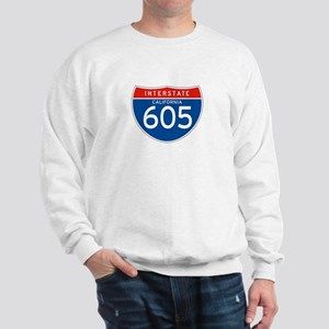 Interstate 605 - CA Sweatshirt