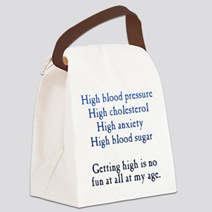 Old Age High Canvas Lunch Bag