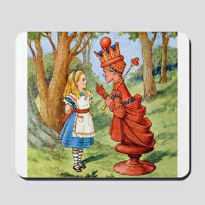 Alice and the Red Queen Mousepad